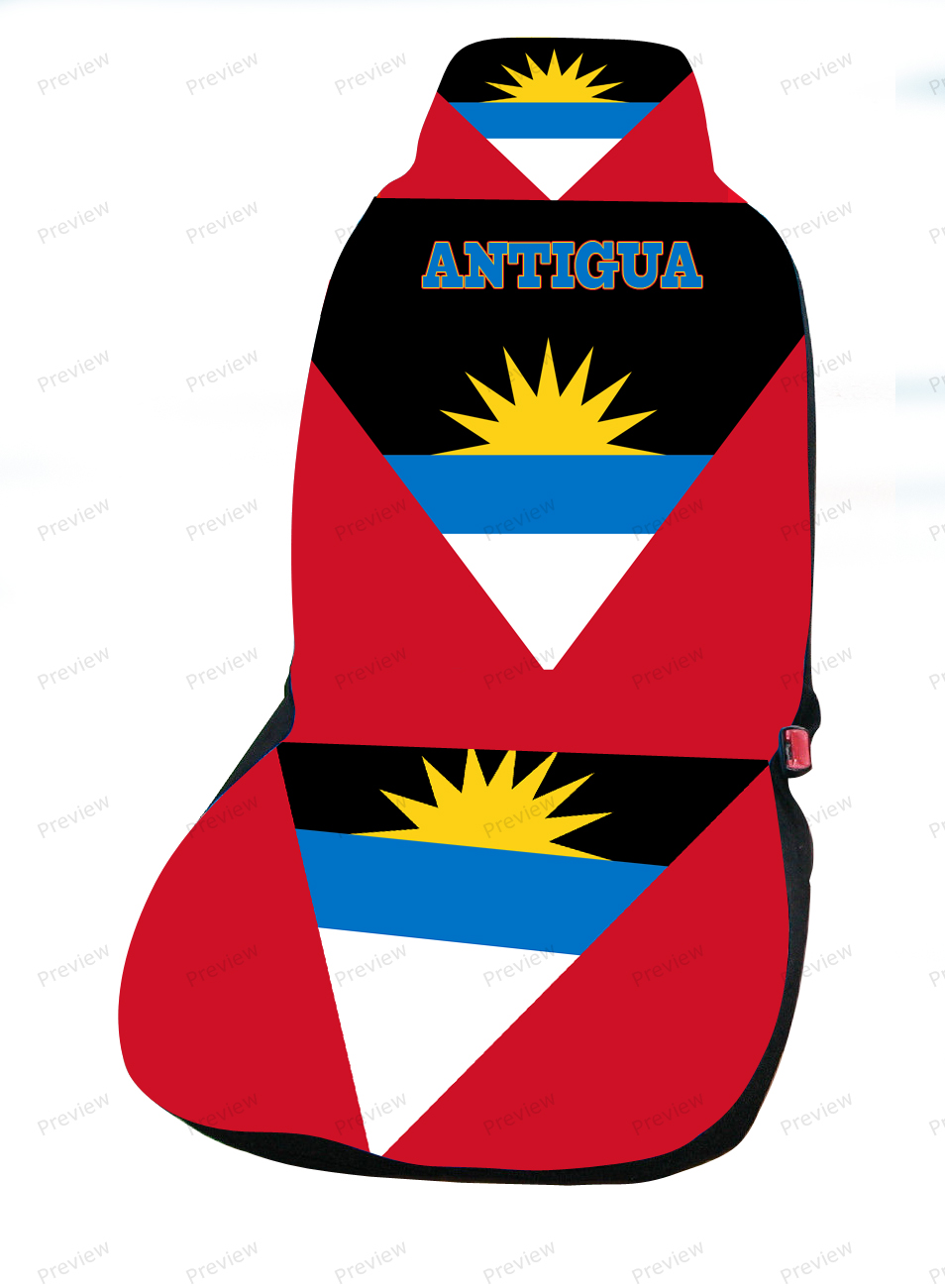 Antigua car cover seat