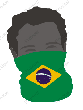 images/Brazil image face band