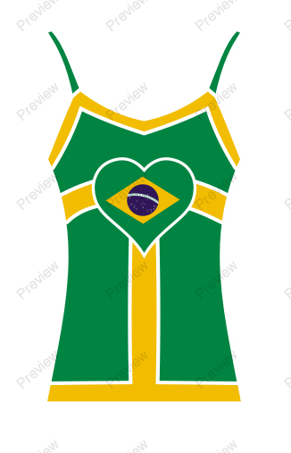 images/Brazil image t-shirt for women