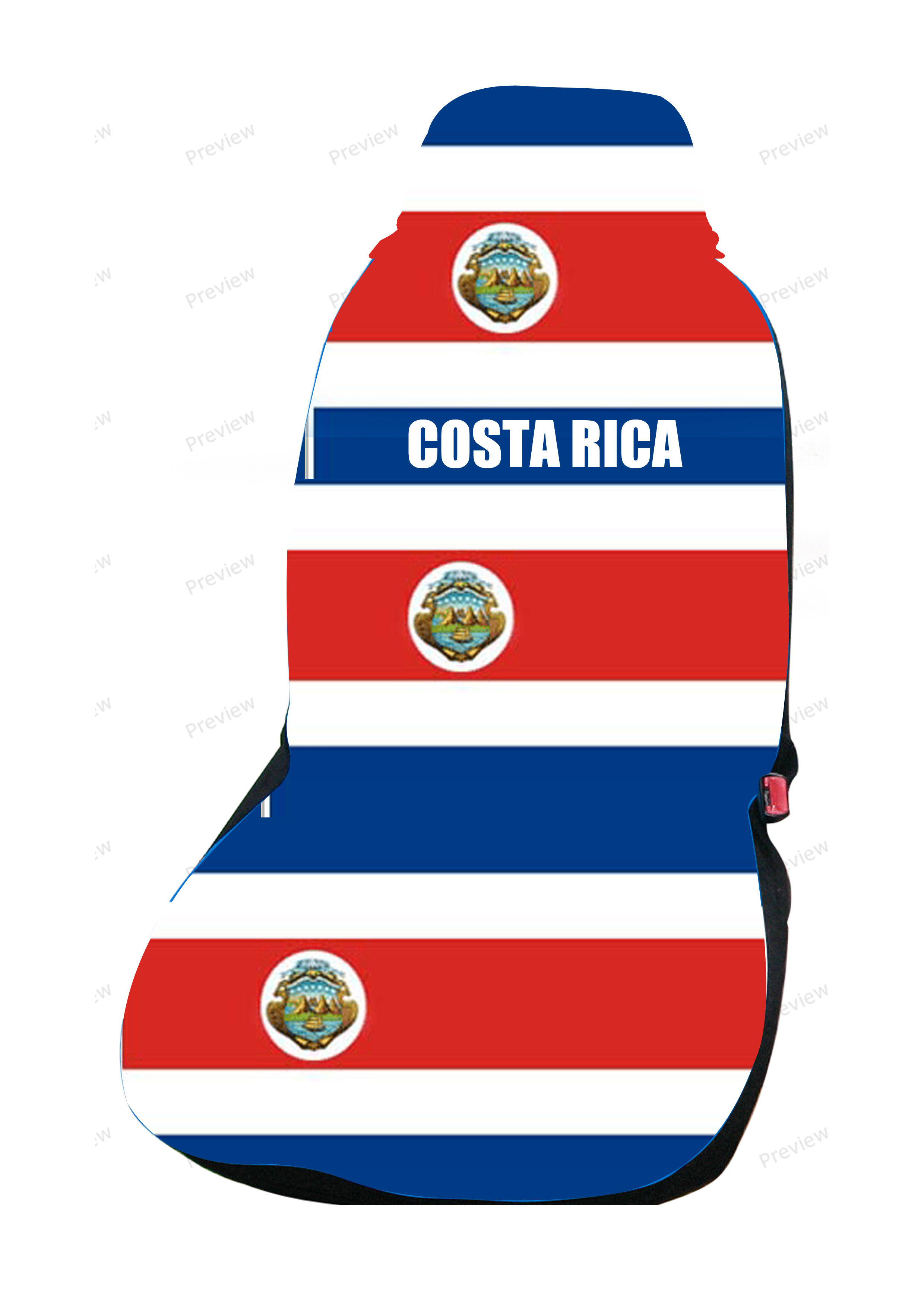 images/Costa Rica Car Cover Seat Flag.jpg