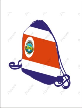 Costa Rica school bag