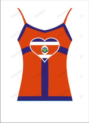 images/Costa Rica image t-shirt for ladies.jpg