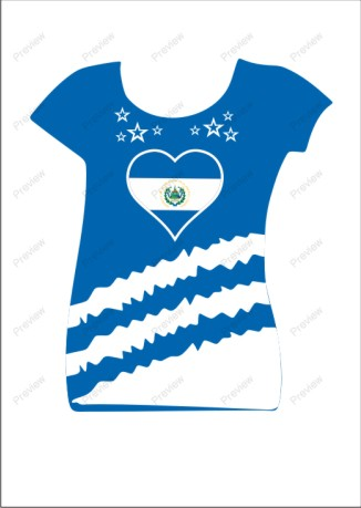 images/El-Salvador image for women tshirts.jpg