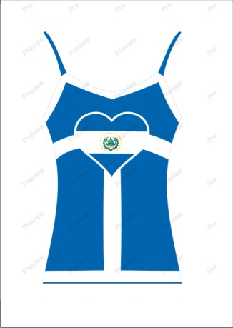 images/El-salvador image t-shirt for women