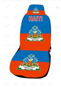 Haiti image for car cover seat
