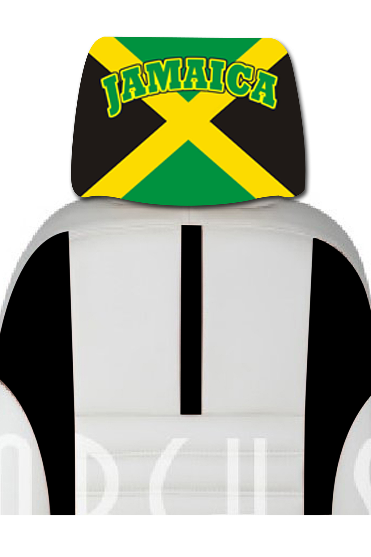 images/Jamaica image car cover seat flag.jpg